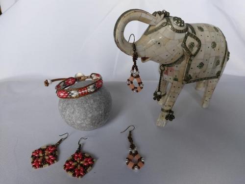 bracelets;wraps;perles;boucles;abby;bijoux;superduos