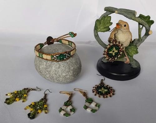 bracelets;wraps;perles;abby;bijou;fait main;boucles