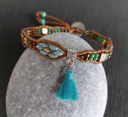 bracelets;wraps;perles