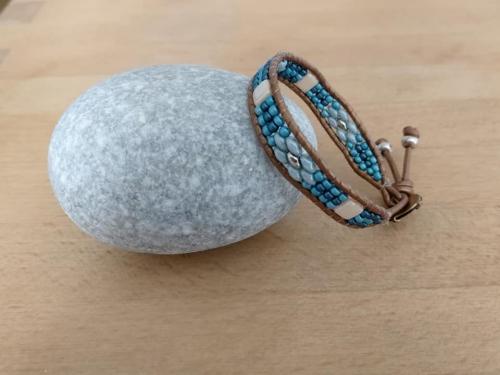 bracelets;wraps;perles;bijou;abby