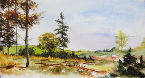 aquarelle,abby,automne,campagne,at