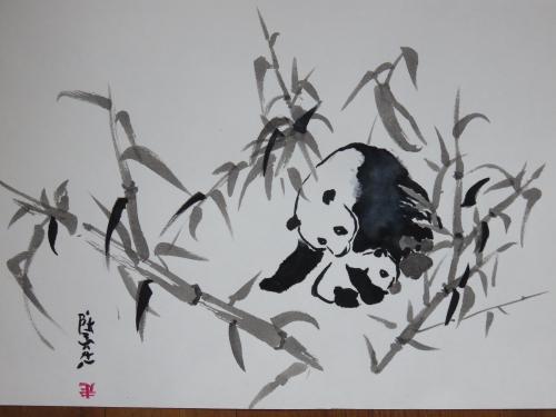 Encre,panda,abby
